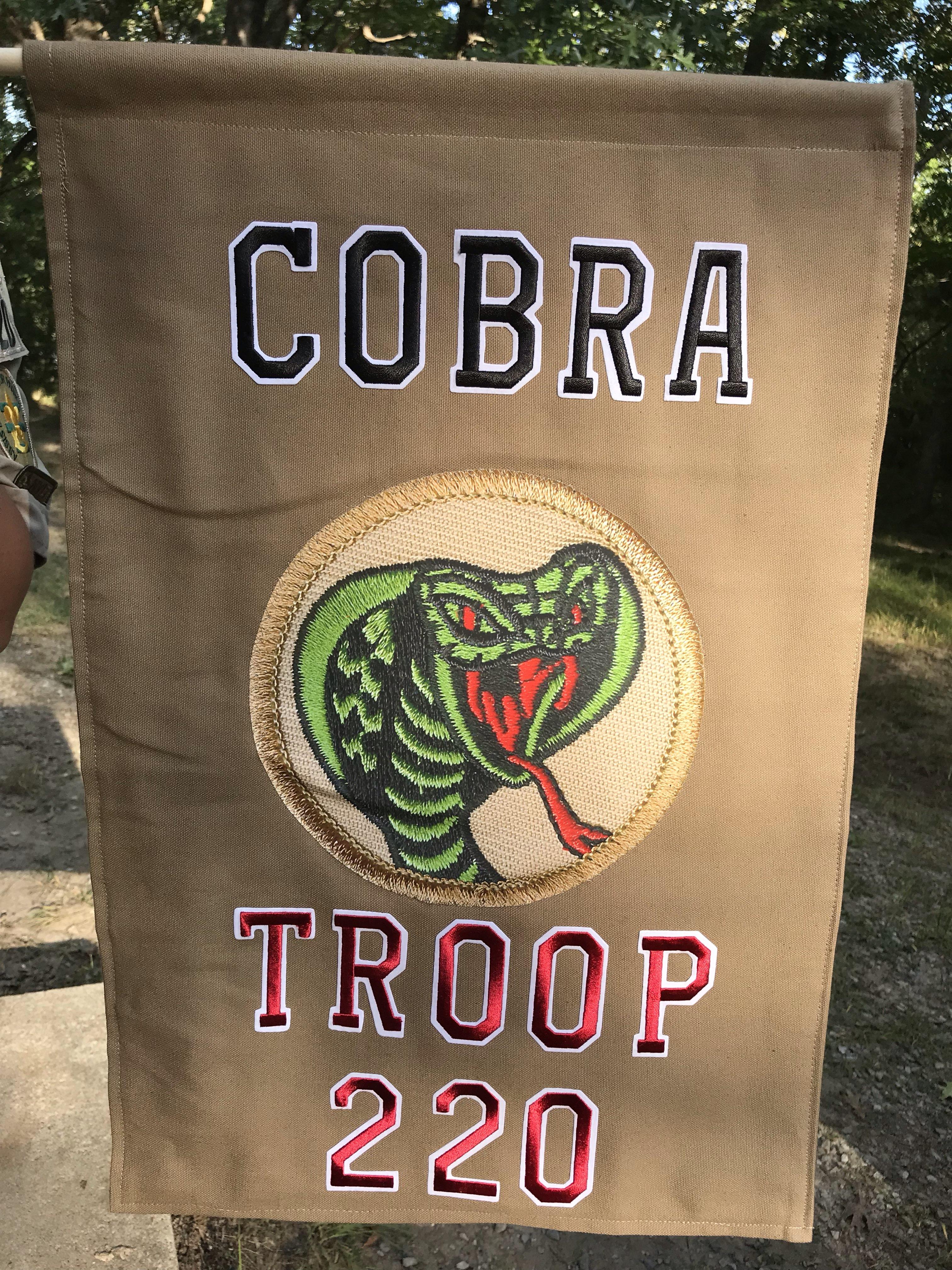 Patrol Flags - Scouts BSA 220 - Boys
