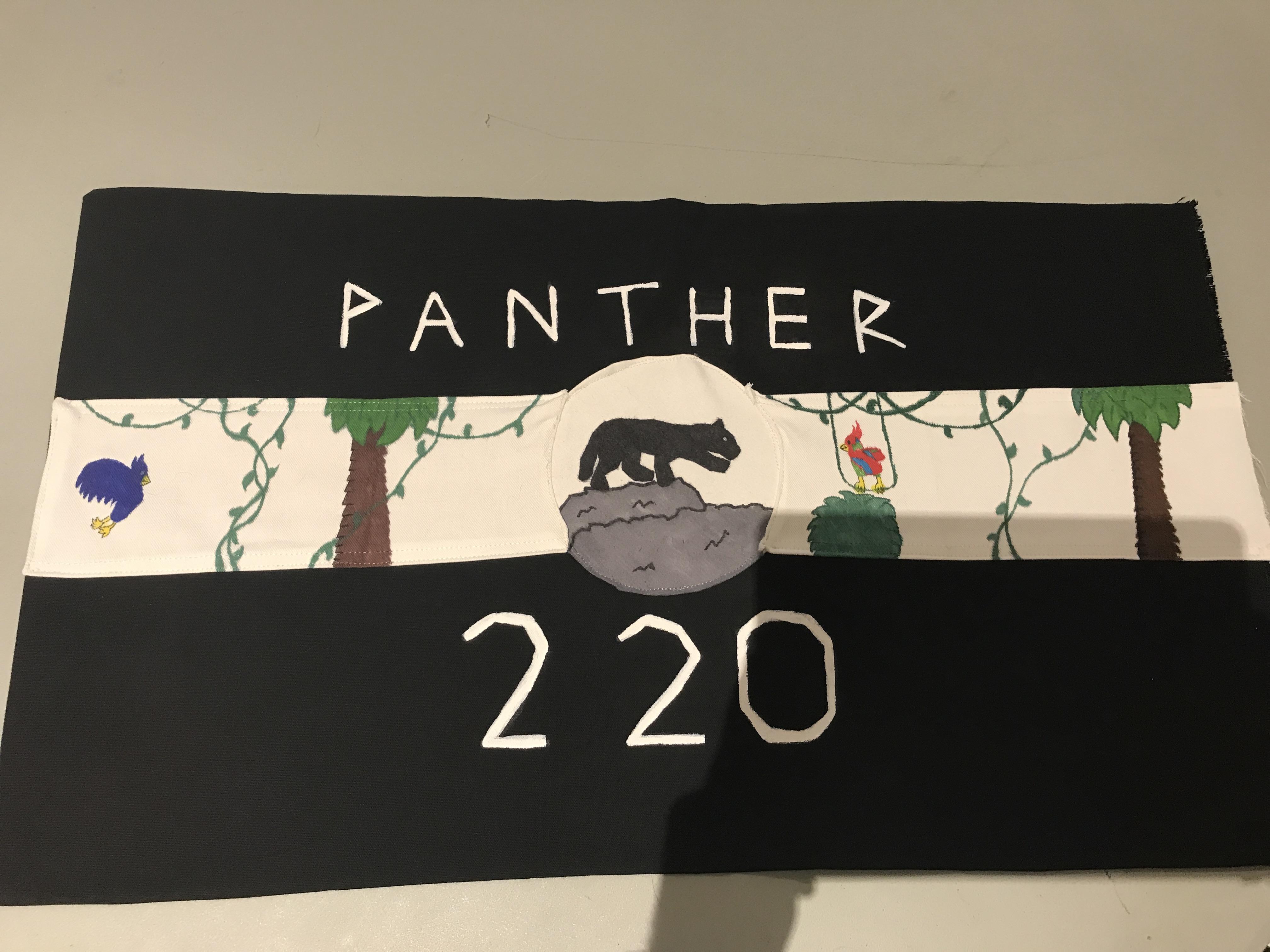Panther Patrol Flag